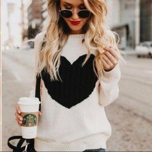 ✨LOVE SWEATER ❤️❤️✨Chic Heart Sweater